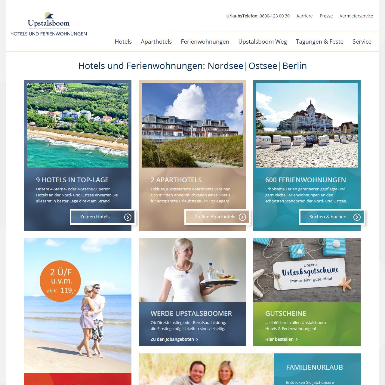 Technologie, Websites & Online Marketing für Ferienwohnungen ...